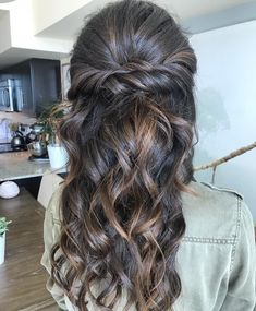 Braids,half up half down hairstyle , boho hairstyle ,updo ,wedding hairstyles #hair #hairstyles