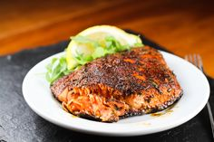 Comfy Belly: Blackened Salmon