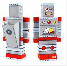 cardboard robot - Google Search