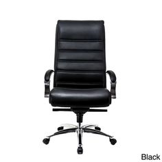 @Overstock - AtTheOffice 3 Series High Back Chair - Complete all your office tasks on this comfy 3 Series high-back chair. This chair features a tilt lock, padded arms, and supple alterna leather upholstery. Sleek and stylish, this contemporary chair will provide hours of comfort each work day.  http://www.overstock.com/Office-Supplies/AtTheOffice-3-Series-High-Back-Chair/7683522/product.html?CID=214117 $302.99