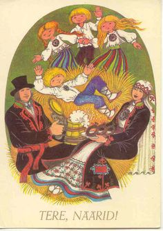 Stamps, coins and banknotes, postcards or any other collectable items are on Delcampe! Old Christmas, Christmas Cards, Folklore, Princess Zelda, Culture, Costumes, History, Gallery, Fictional Characters