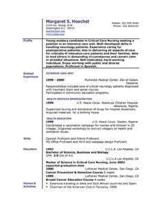 Objective For Resume For High School Studentfree Resume  Http