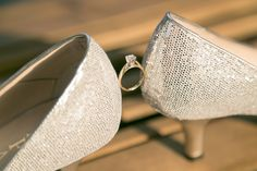 Kariya Park Wedding | Victoria and Danny | We are loving the silver wedding shoes and beautiful wedding ring  #torontoweddingphotographer #weddingphotography #weddingring ~ http://www.focusproduction.ca/kariya-park-wedding-victoria-danny/
