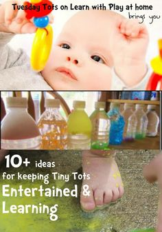 Learn with Play at home: 10+ ideas for keeping Tiny Tots Entertained and Learning
