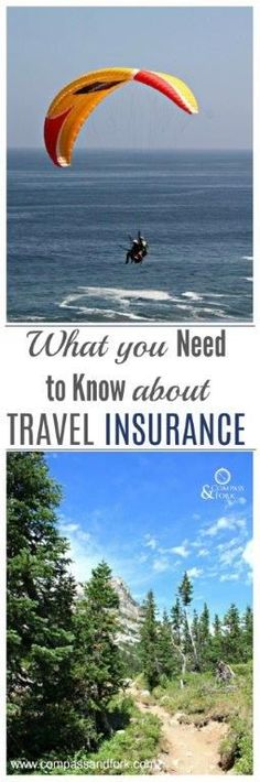 What you need to know about Travel Insurance www.compassandfork.com