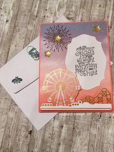 Fun Crafts, Paper Crafts, Stampin Up Paper Pumpkin, Pumpkin Cards, Stamping Up, Creative Cards, Fun Projects, Card Making, Greeting Cards