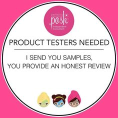 I love Perfectly Posh, I would love to send you free samples! Send me a message or message me on Facebook to get your samples facebook.com/abposh
