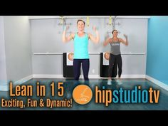 Lean in 15 | Exciting, Fun & Dynamic | Hermosa Beach Pilates Studio | HIP Studio | - YouTube