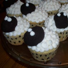 Make Do: Sheep Cupcakes for Skylander Party