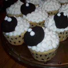 Make Do: Sheep Cupcakes for Skylander Party
