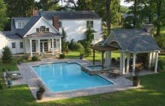 this is lovely. the hot tub would need to be on the west side for us to build the gazebo near it.