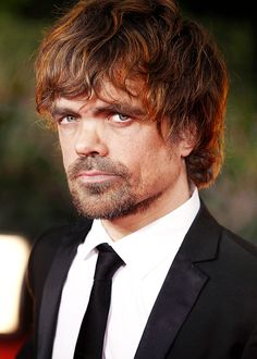 Tyrion! Well, Peter Dinklage. Huge crush on him..can't wait till he's back in my life every week!