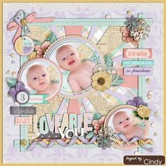 Sweet Shoppe Designs :: Other Templates :: Cindy's Layered Dates: Set 5 by Cindy Schneider Baby Scrapbook Pages, Scrapbook Albums, Scrapbooking Layouts, Digital Scrapbooking, Memory Books, Little Darlings, Mini Albums, Lay Outs, Lily