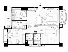 Unit Plan, Plane, House Plans, Floor Plans, Layout, The Unit, Flooring, How To Plan, Drawing