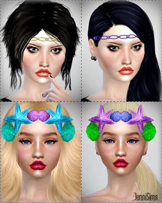 Tiaras Headband at Jenni Sims • Sims 4 Updates