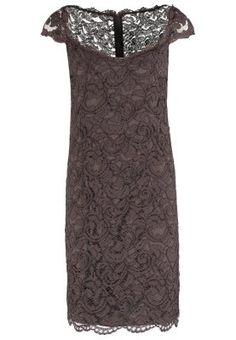 Summer dress - dark nougat