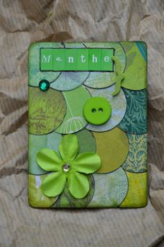 Colors ATCs - love the punched circles - great way to use up some scraps
