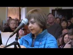 Must See  9-year-old activist speak out against corporate interests taking over his town's water