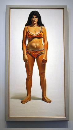 Wayne Thiebaud - Bikini - Nelson-Atkins Museum of Art (this is soooooo delicious in person)