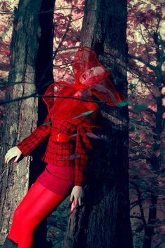 High Drama Collar/Shrug  Red by herlbd on Etsy, $65.00