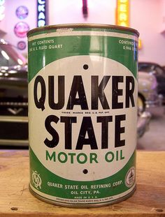 Quaker State - via Colby Thueson