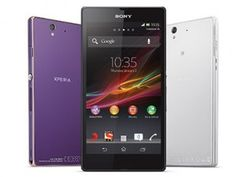 Sony Launched water-proof and dust-proof Xperia Z by Katrina Kaif