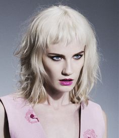 Bob Hairstyles for Party Hairstyles 2015 Blonde Hair Color with Bangs ...