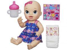 Boneca Baby Alive Hora do Xixi - Hasbro de R$ 199,90 por R$ 119,90  R$ None em até 2x de R$ 59,95 sem juros no cartão de crédito