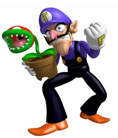 Waluigi gonna use this Piranha Plant to make your dress extra beautiful.