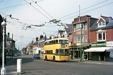 Bournemouth Trolleybus 274 WRU274 1969 BUS Photo | eBay Bournemouth England, Bus Coach, Heavy Equipment, Coaches, Hampshire, Buses, Transportation, Past, Aircraft