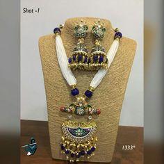 Indian Jewellery Design, Jewellery Designs, Necklace Designs, Bridal Jewelry, Gold Jewelry, Fine Jewelry, Diamond Necklace Simple, Jewelry Drawing, India Jewelry