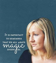 We all have magic...