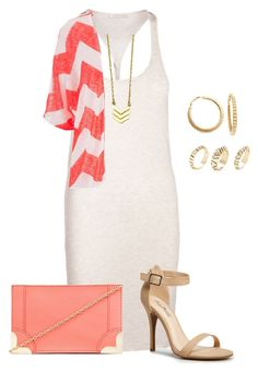 """""""plus size summer street chic/tank dress style"""" by kristie-payne ❤ liked on Polyvore"""