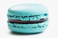 Blueberry Macaron - DeToni Patisserie and Bakery Macarons