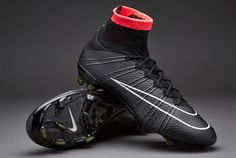 Nike Football Boots - Nike Mercurial Superfly FG - Firm Ground - Soccer  Cleats - Black 66e8187f98aaa