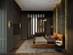 "TOL'KO / ""OKO"" Luxurious apartment at Moscow city on Behance"