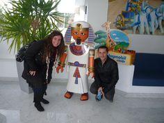Con Rosalía López en nuestra visita MACOM en las instalaciones de Playmobil