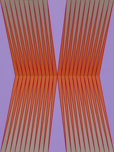 "Fortran, 2011, 40"" x 30"", acrylic on canvas"