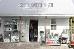 Another Shed Sweet Shed Boutique...May 13 and 14, 2016