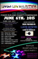 Plymouth, WI - June 6, 2015: 4th Annual Living with Autism Poker Run & Fundraiser.