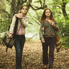 Harry Potter Challenge - Day 15 - Who My Friends Would Be At Hogwarts - Hermione Granger and Ginny Weasley Ginny Weasley, Harry Potter Hermione, Humour Harry Potter, Fantasia Harry Potter, Gina Harry Potter, Objet Harry Potter, Mundo Harry Potter, Harry Potter Pictures, Harry Potter Books