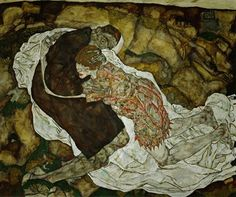 Egon Schiele: Death And The Maiden, 1915