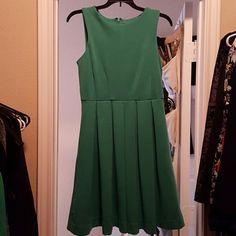 Skater dress Polyester green flirty dress perfect for date night or brunch! Jennifer Lopez Dresses Mini