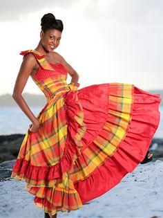 Robe Madras FEMME Pascal