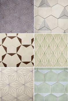 """Claesson, Koivisto, Rune and their new tiles for Marrakech Design."" (Illustration/Design/Architecture)"