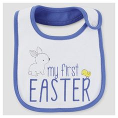 Baby Boys' My First Easter Bib White - Just One You Made by Carter's