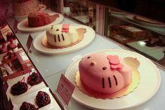 cake, food, hello kitty, kawaii, pink