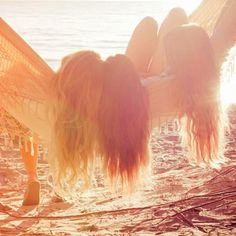 Lazy afternoons in the sun with the best of friends. @Kaitlyn Marie Marie Chapman-Mortimer this is you Monica and me :D