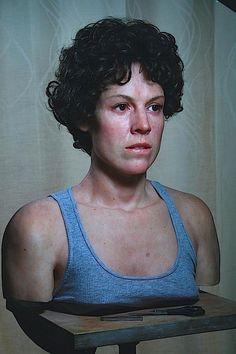 Ed Rodrigues - Busto realista da Ellen Ripley de Aliens