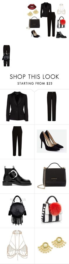 Без названия #3 by lulu-487 on Polyvore featuring мода, Alexander McQueen, The Row, Acne Studios, Maison Margiela, JustFab, Givenchy, Les Petits Joueurs, River Island and Lime Crime
